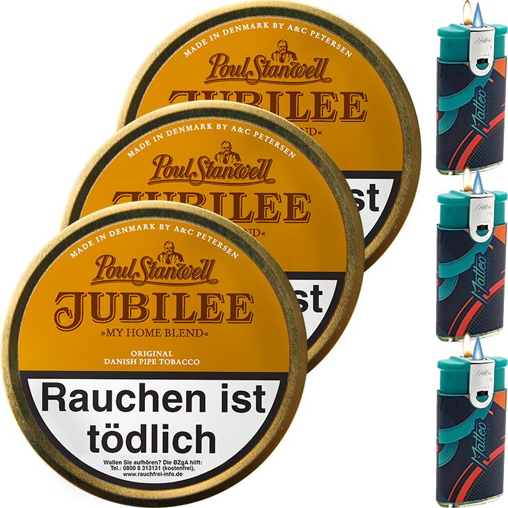 Poul Stanwell Jubilee 3 x 100g