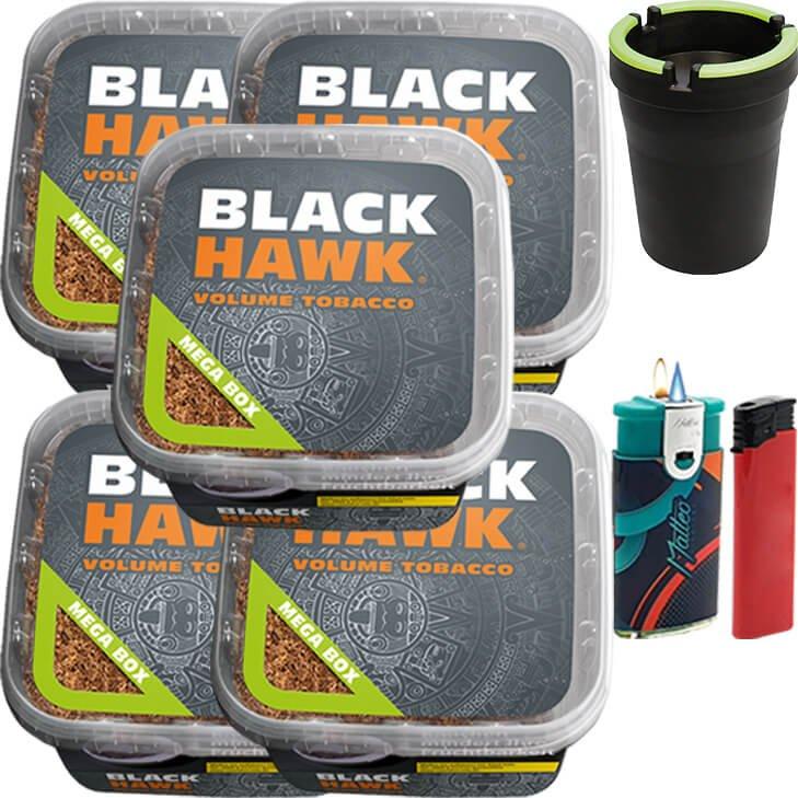 Black Hawk 5 x 230g mit Aschenbecher