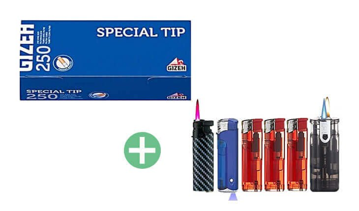 Gizeh Blue Special Tip Extra 20 x 250