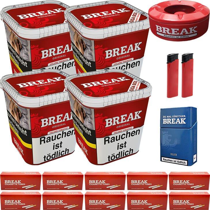 Break Original 4 x 230g mit 2000 Hülsen