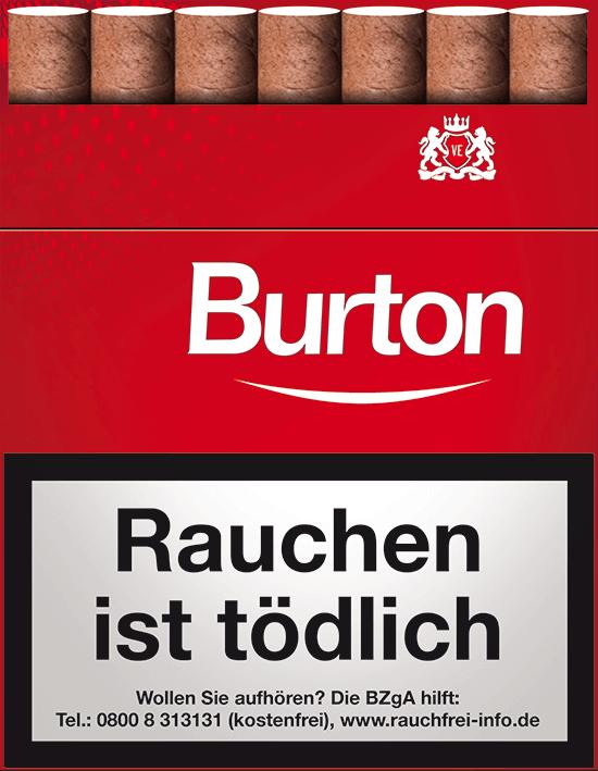 Burton Red Zigarillos 3,00 €