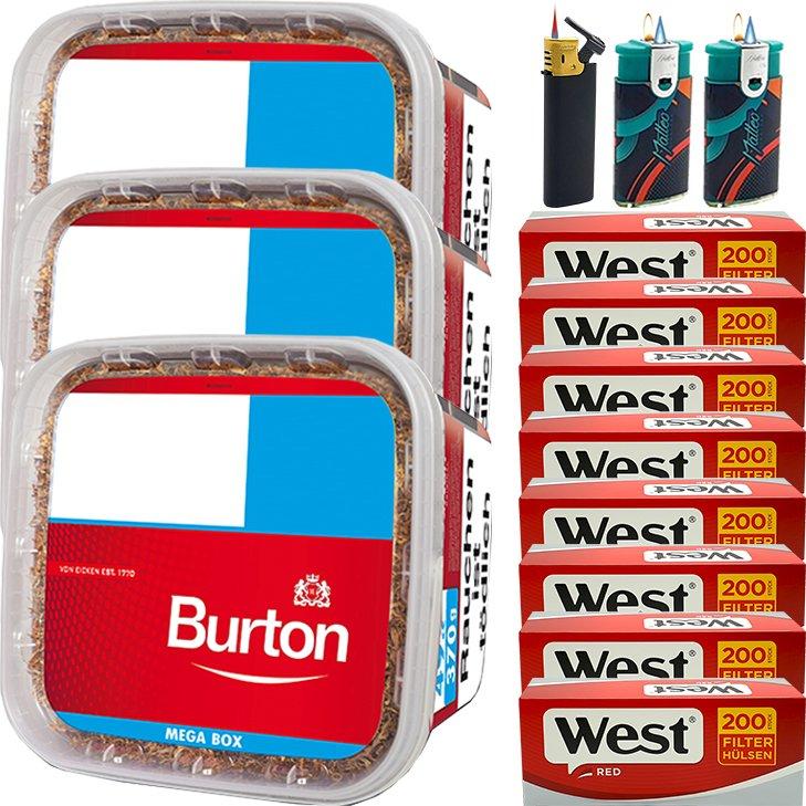 Burton 3 x 350g mit 1600 Hülsen