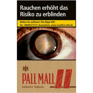 Pall Mall Authentic Red 6,80 €