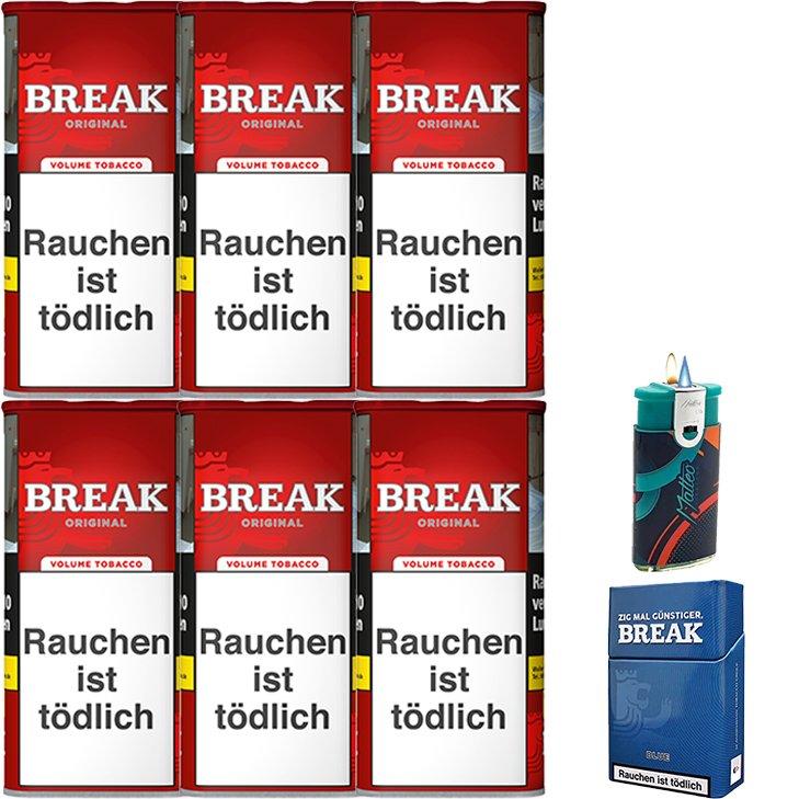 Break Original 6 x 115g mit Etui