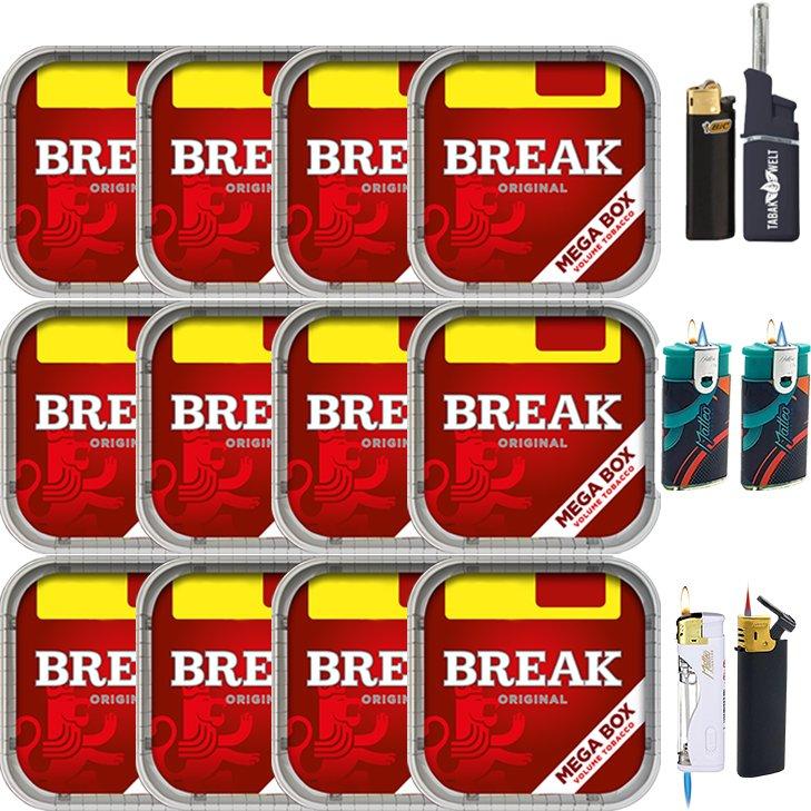 Break Original 12 x 170g mit Feuerzeuge