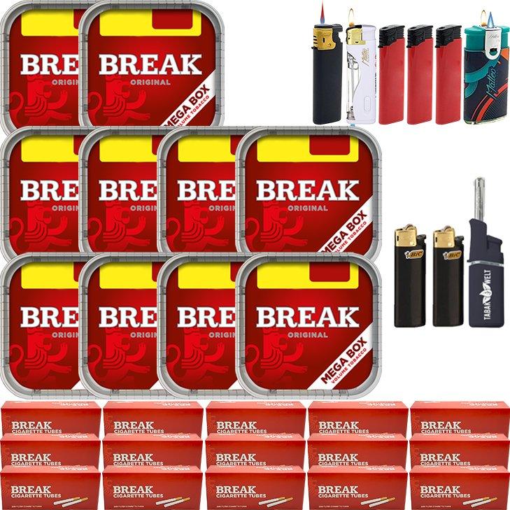 Break Original 10 x 170g mit 3000 Hülsen