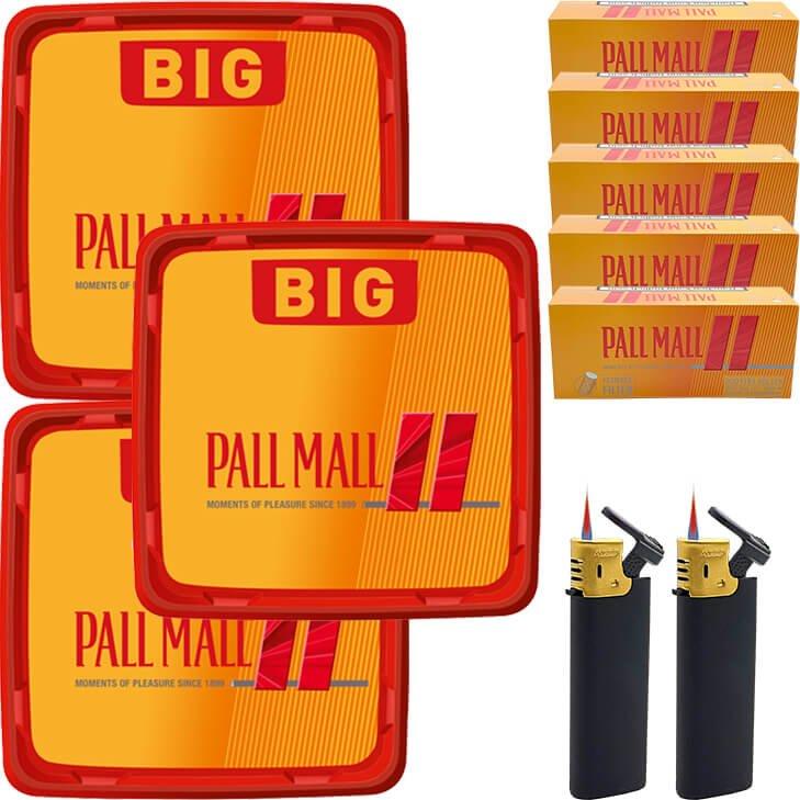 Pall Mall Allround Red 3 x 120g mit 1000 Hülsen