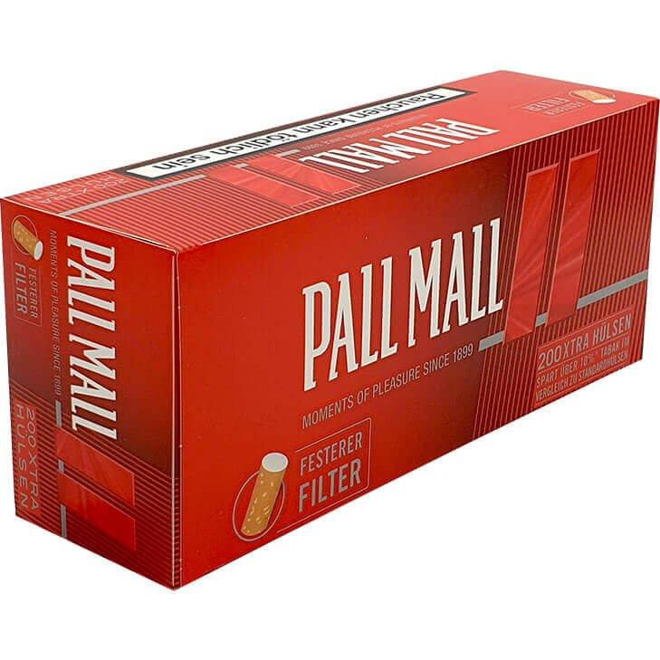 Pall Mall Red Xtra Filterhülsen 200