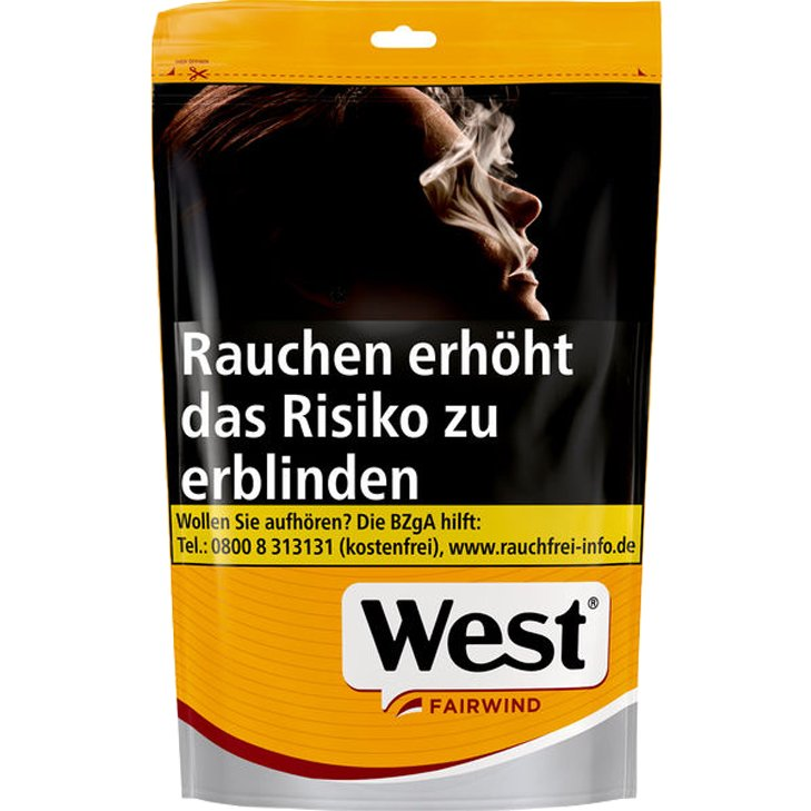 West Yellow Volume Tobacco 120g