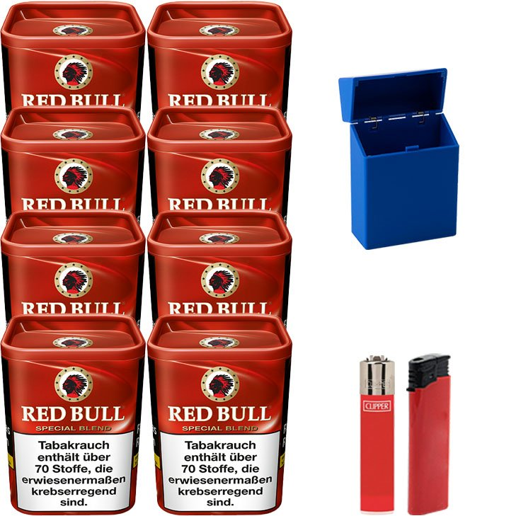 Red Bull Special Blend 8 x 120g mit Etui