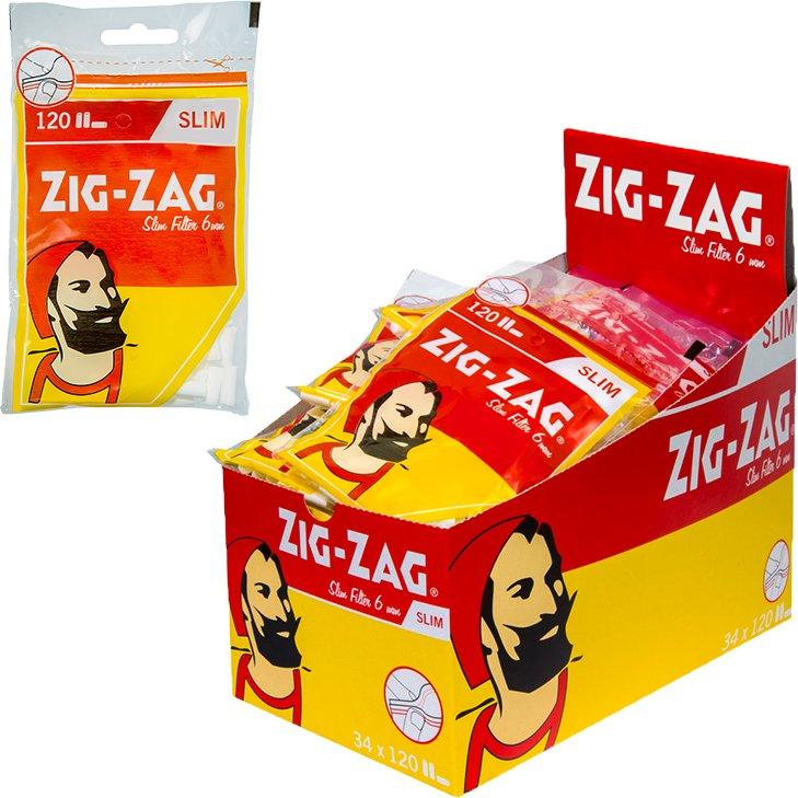 Zig Zag Spezial Slim 6 mm 34 x 120 Stück