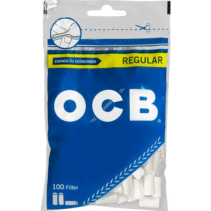 OCB Drehfilter Regular 7,5 mm 100 Stück