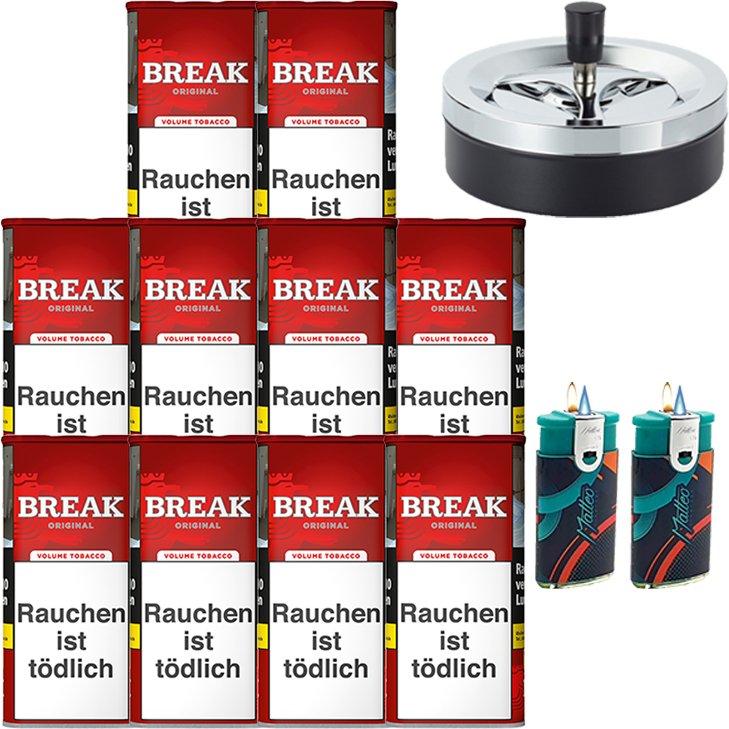 Break Original 10 x 115g mit Aschenbecher