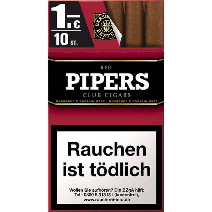 Pipers Club Cherry / Red