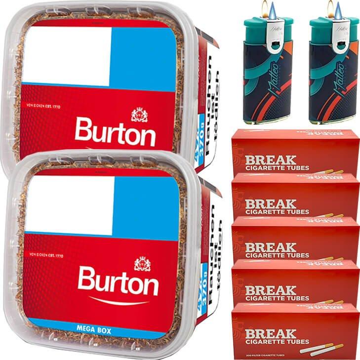 Burton 2 x 350g mit 1000 Hülsen