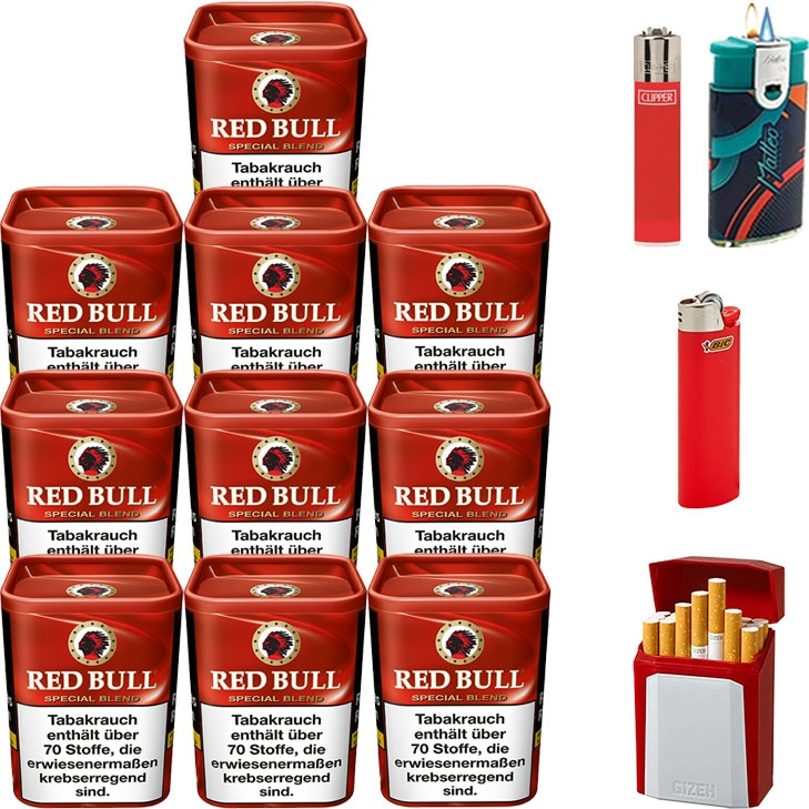 Red Bull Special Blend 10 x 120g mit Etui