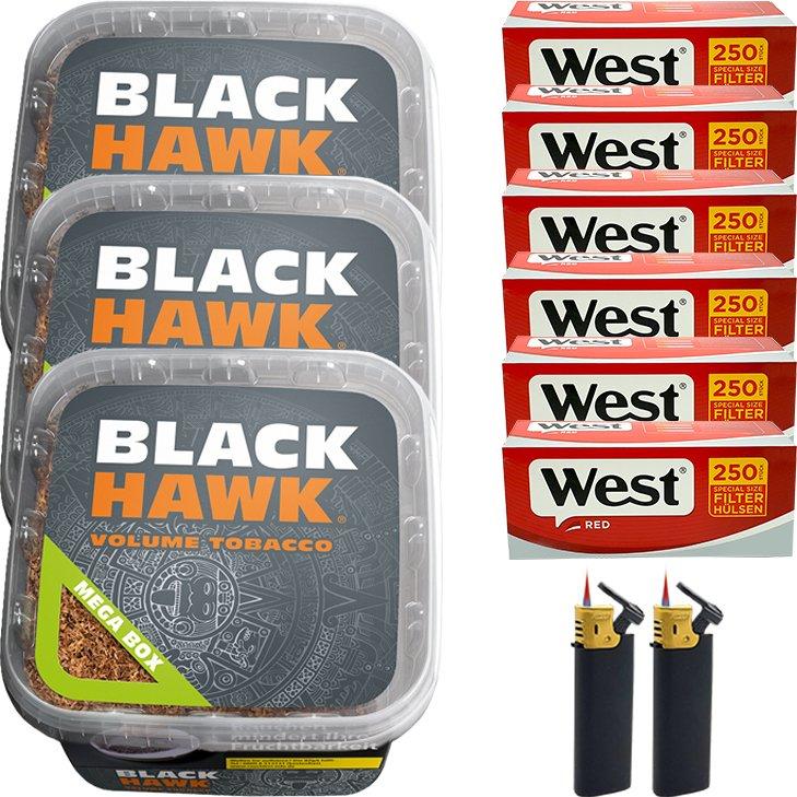 Black Hawk 3 x 230g mit 1500 Special Size Hülsen