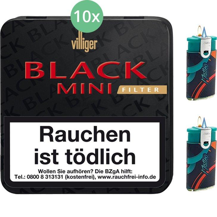 Villiger Black Mini Sumatra Filter 10 X 20 Stück