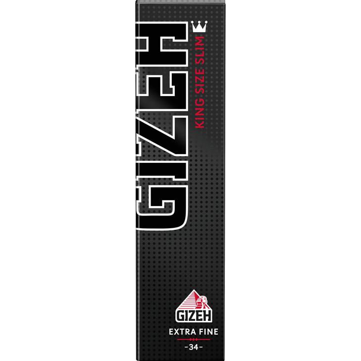 Gizeh Black King Size Slim 34 Blatt