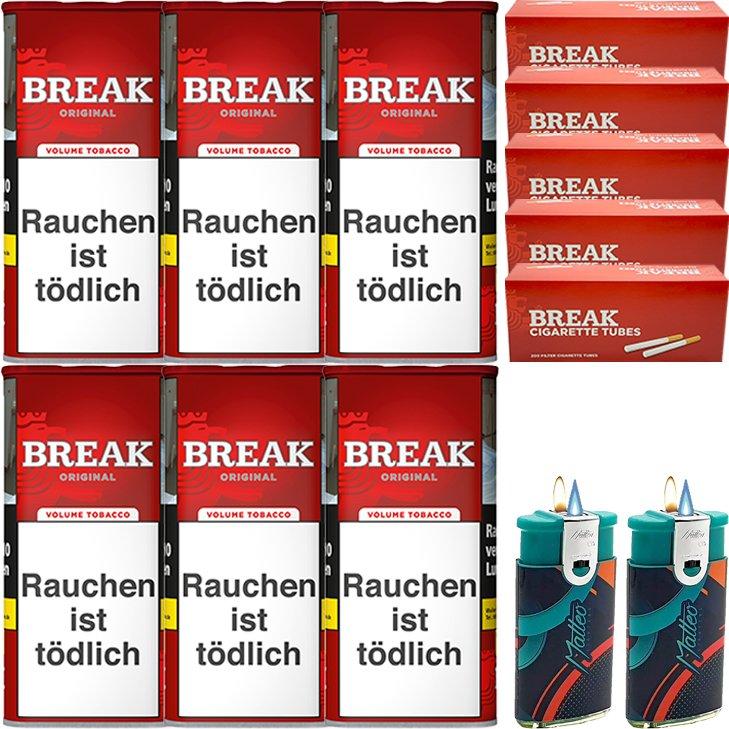 Break Original 6 x 115g mit 1000 Hülsen