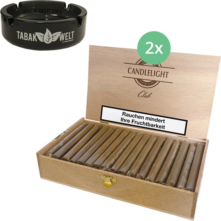 Candlelight Club Brasil 2 x 50 Zigarren
