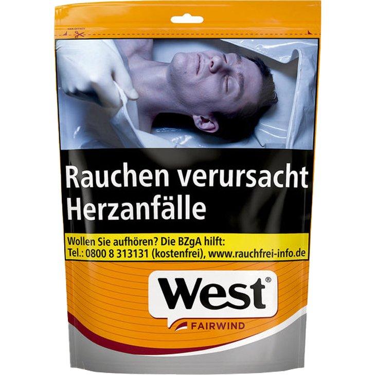 West Yellow Volume Tobacco 155g