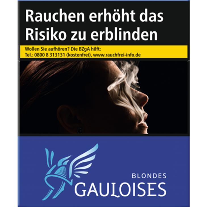 Gauloises Blondes Blau 10 €