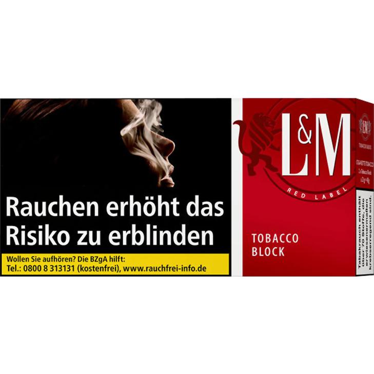 L&M Tobacco Block Red Label 42g