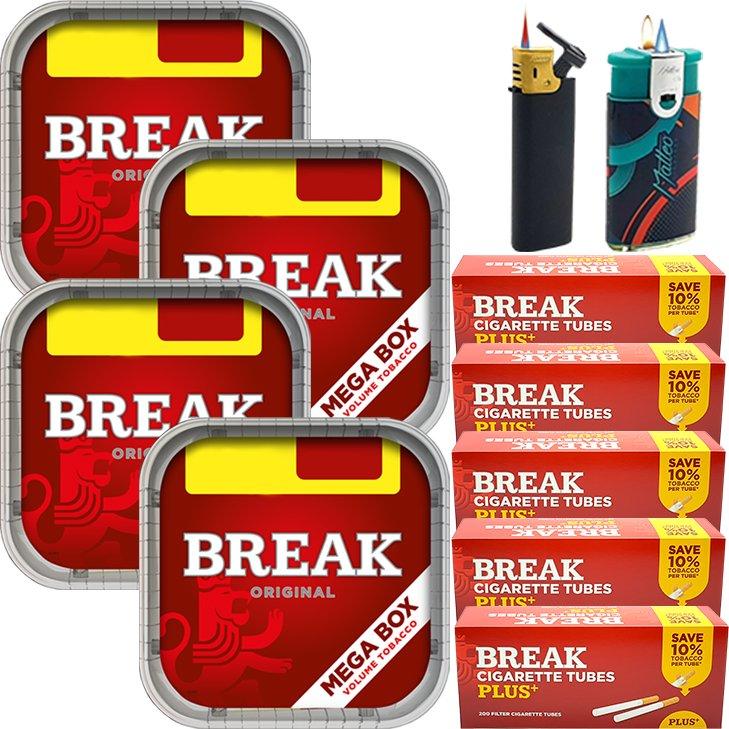 Break Original 4 x 170g mit 1000 Plus Hülsen