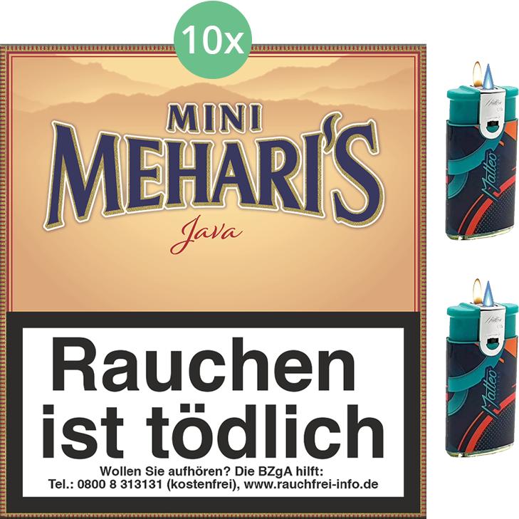 Mehari's Mini Java 10 x 20 Stück