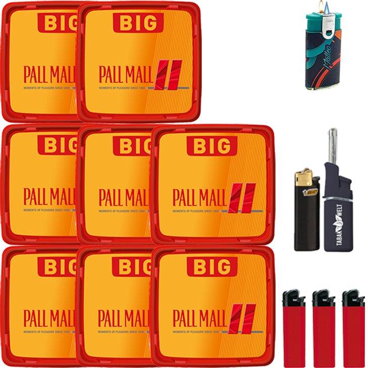 Pall Mall Allround Red 8 x 120g mit Feuerzeugen