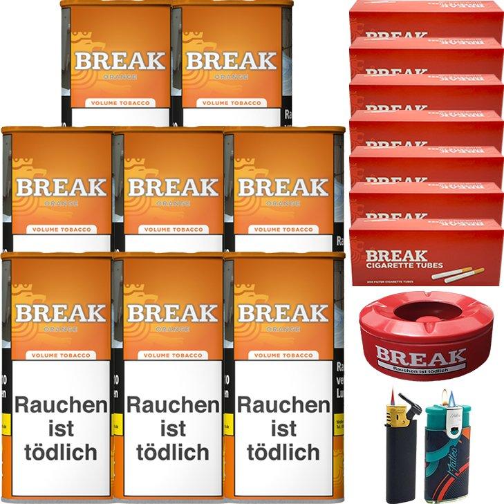 Break Orange 8 x 110g mit 1400 Hülsen