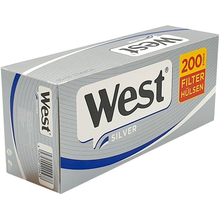 West Silver Filterhülsen 200