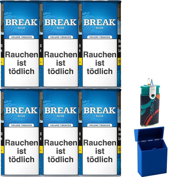 Break Blue / Blau 6 x 115g mit Etui