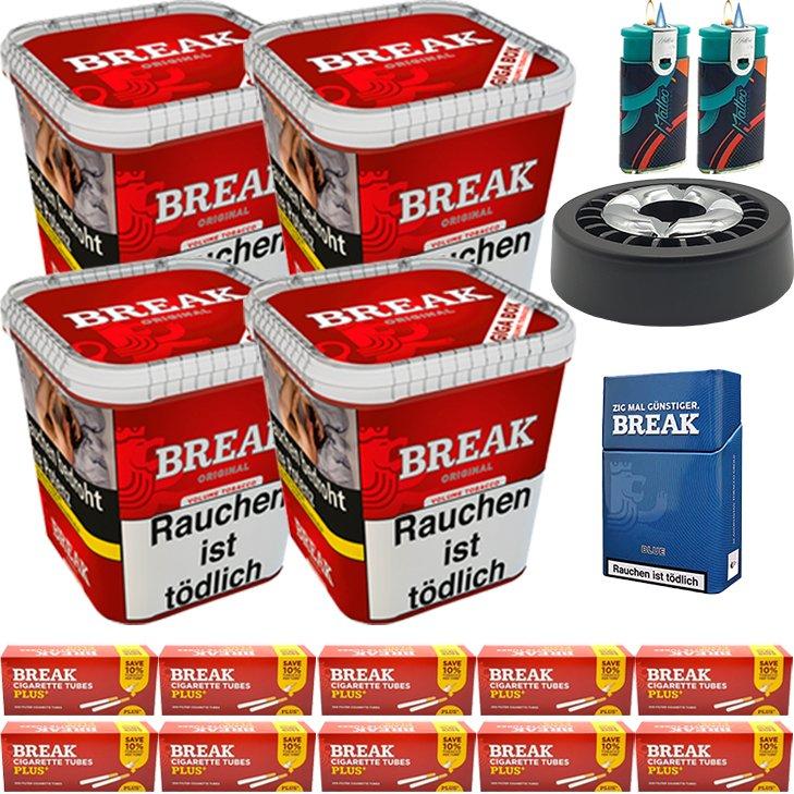 Break Original 4 x 230g mit 2000 Plus Hülsen