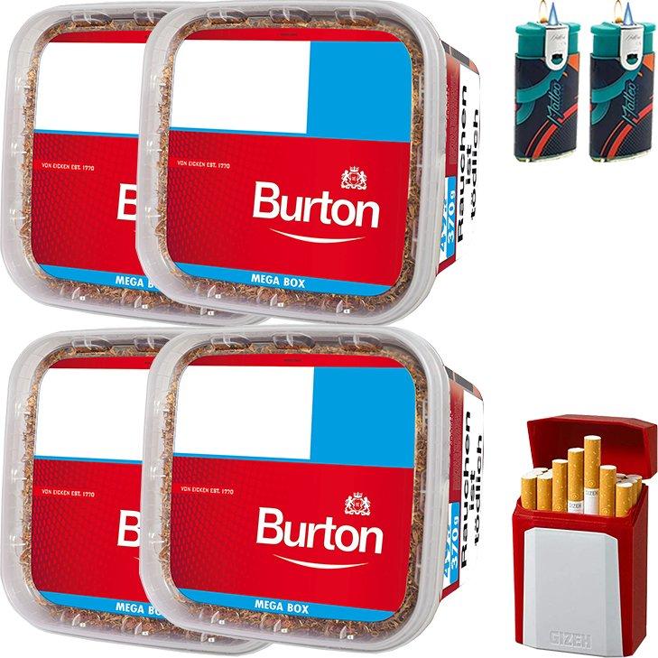 Burton 4 x 350g mit Gizeh Etui