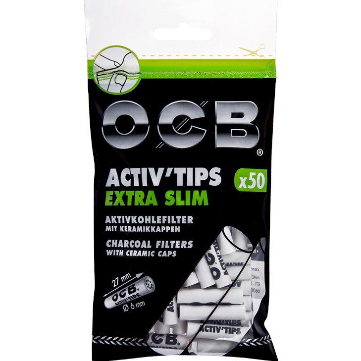 OCB Activ'Tips Extra Slim 6 mm 50 Stück