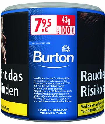 Burton Volumentabak Blue L-Size 43g