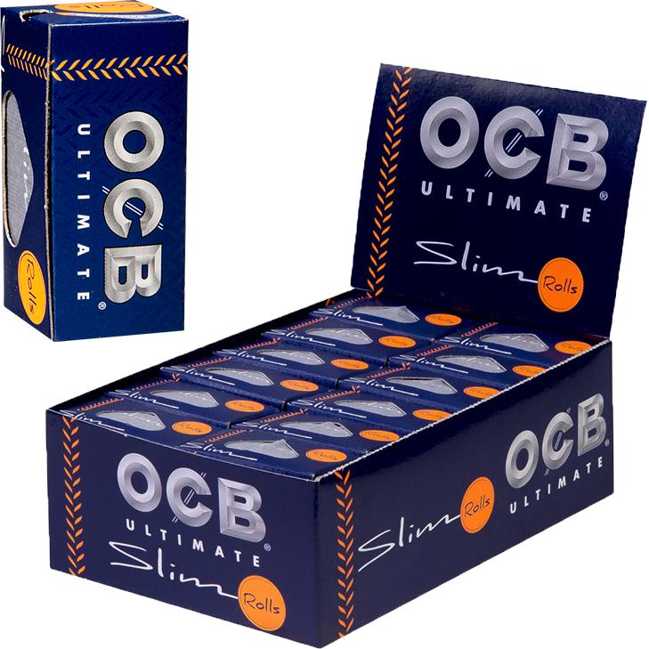 OCB Ultimate Rolls Slim 24 x 4 m