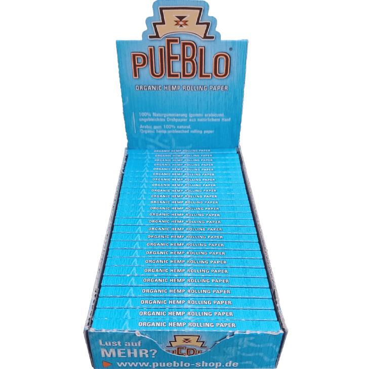 Pueblo Organic Hemp Rolling Paper 25 x 50 Blatt