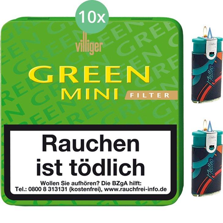 Villiger Green Mini Filter 10 X 20 Stück