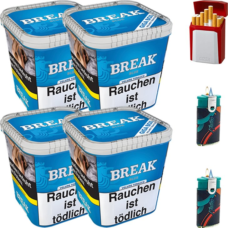 Break Blue 4 x 230g mit Etui