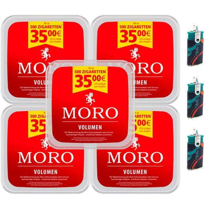 Moro Volumen 5 x 225g