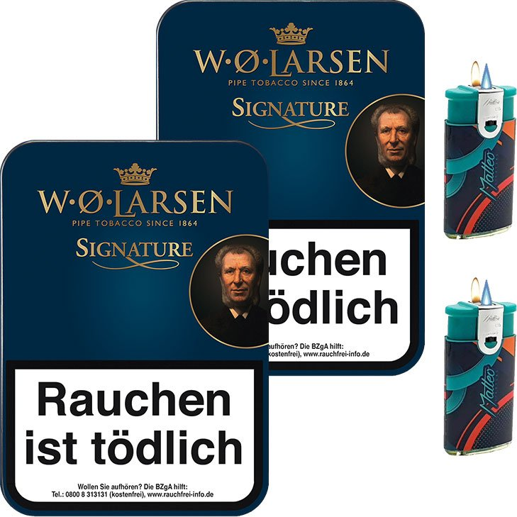 W.O. Larsen Signature 2 x 100g