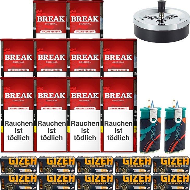 Break Original 10 x 115g mit 2000 Extra Hülsen