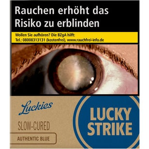 Lucky Strike Authentic Blue 10 €