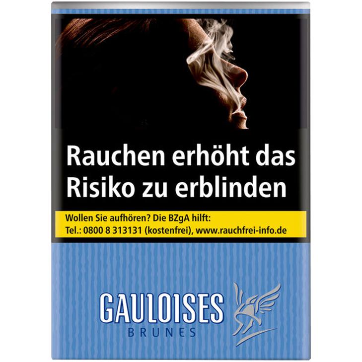 Gauloises Brunes 7,50 €