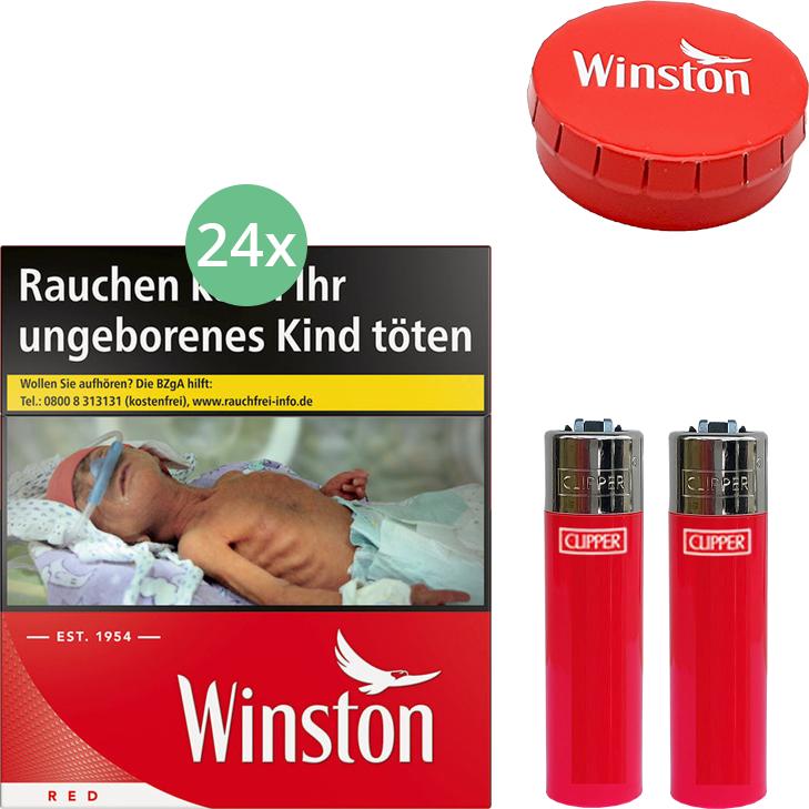 Winston Red (3 Stangen) 24 x 34 Stück