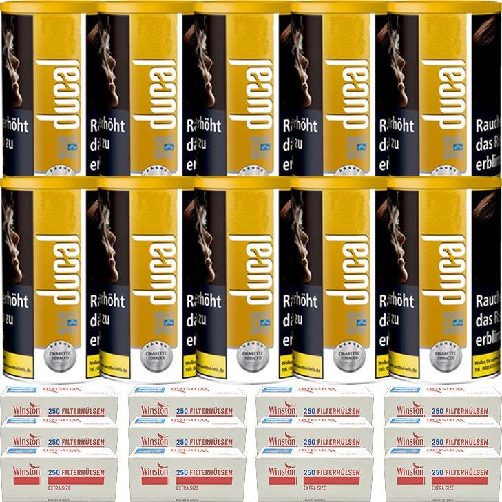 Ducal Gold 10 x 200g mit 3000 Special Size Filterhülsen