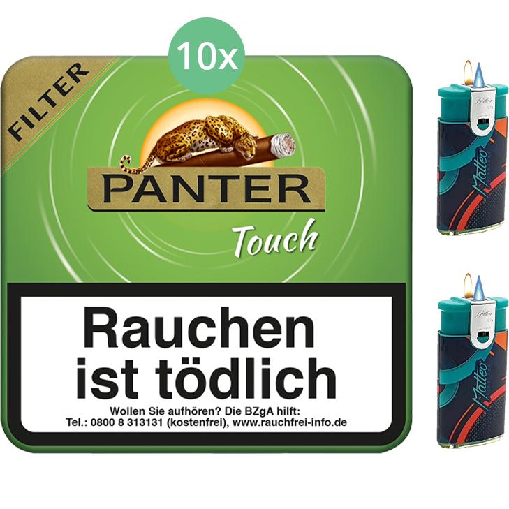 Panter Touch Green Filter 10 x 20 Stück